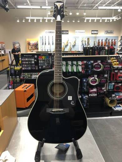 Pro-1 Ultra Acoustic/Electric Guitar - Ebony