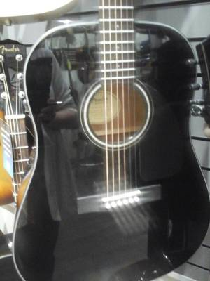 FENDER CD-60 ACOUSTIC BLACK