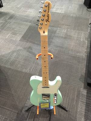 FENDER AM SPEC TELE MN SFG W/DLX BAG