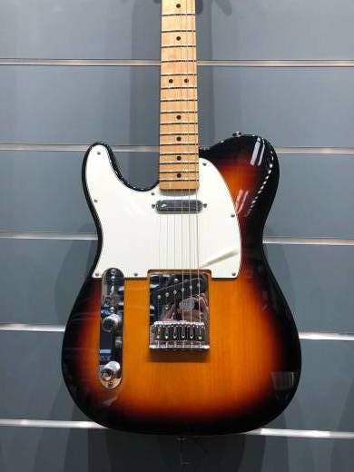 Standard Tele Left Handed - Maple Neck in Brown Sunburst