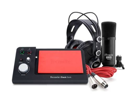 Focusrite iTrack Dock Studio