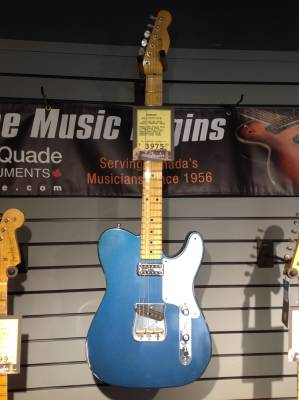 GTR - Fender Custom Shop Limited Edition 1955 Relic Caballo Tele - Aged Lake Placid Blue