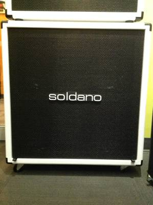 GTR - Soldano Lucky 13 4x12 Ext. Cab 16ohm - White