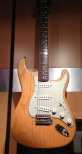 Fender Custom Shop 60 Reissue Master Built Strat in Natural
