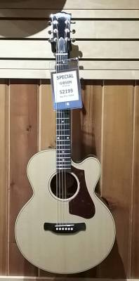 2017 High Performance 665 SB Acoustic/Electric Guitar - Natural