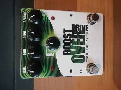 Boost Overdrive Pedal