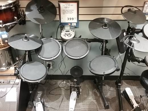 DM6 Nitro Kit 8-Piece Electronic Drum Kit with Nitro Drum Module