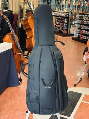 Store Special Product - Deluxe 4/4 Cello Outfit w/Case and Carbon Fibre Bow