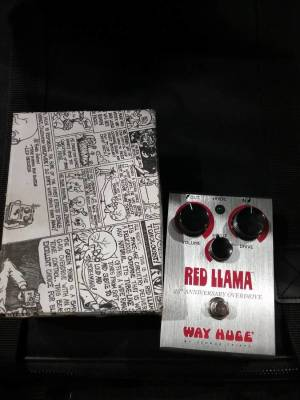Red Llama 25th Anniversary Overdrive Pedal