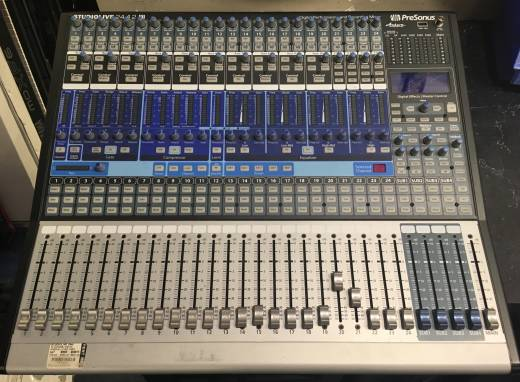 24-Channel Digital Mixer with 24 Mic Pre's