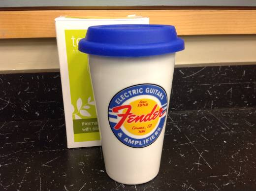 Fender Porcelain Travel Mug