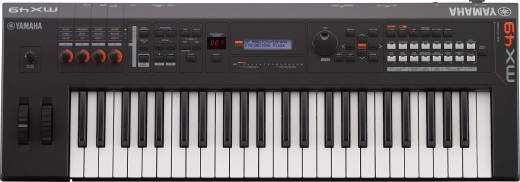 Store Special Product - MX BK/BU Series 49-Key Synthesizer (128 Polyphony) - Black