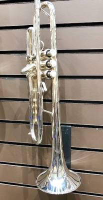 BACH STRAD 'COMMERCIAL' BB TRUMPET L BORE S/P