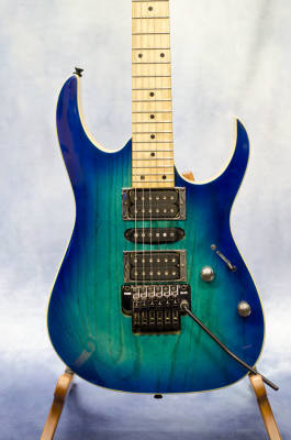 RG Electric Guitar - Blue Moon Burst