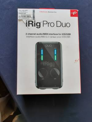 iRig Pro DUO 2-Channel Audio Interface
