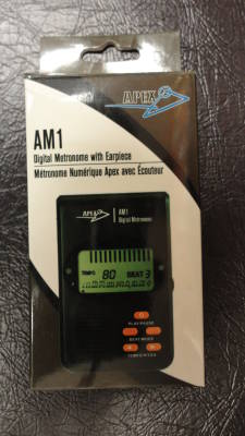 Metronome with Earpiece