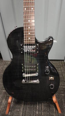 Epiphone Les Paul Special II Plus Top - Trans Black Ltd