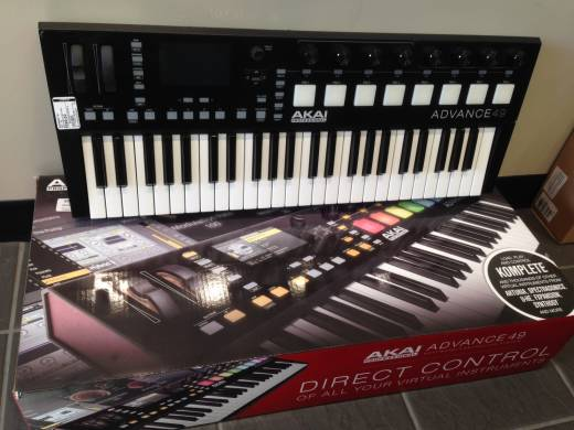 Store Special Product - AKAI - 49 SEMI-WEIGHTED KYBD CONTROLLER