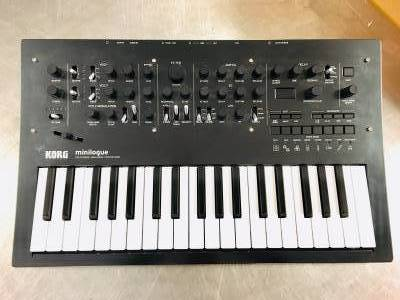 KORG Minilogue Polyphonic Analog Synthesizer - Limited Ediition Polished Grey