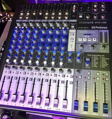 StudioLive AR12 14-Channel USB Hybrid Performance and Recording Mixer