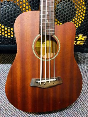 Store Special Product - Mahogany Micro Bass w/Pickup & Gigbag