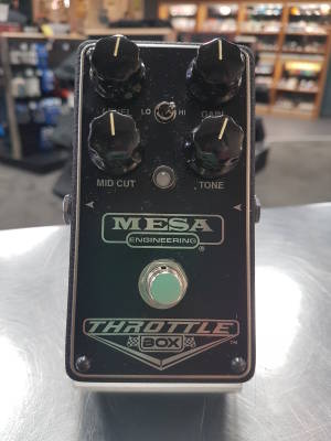 Throttle Box Distortion Pedal