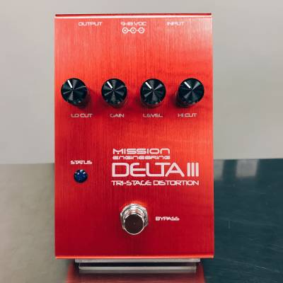 Delta III Tri-Stage Distortion Pedal