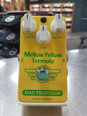 Mellow Yellow Tremolo by Mad Professor Hand Wired