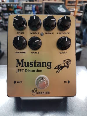 Mustang JFET Distortion by Tritonlabs
