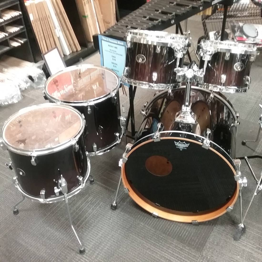 Tama Silverstar Birch Shell Pack