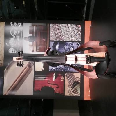 Store Special Product - 5 String Electric Violin - Natural Body