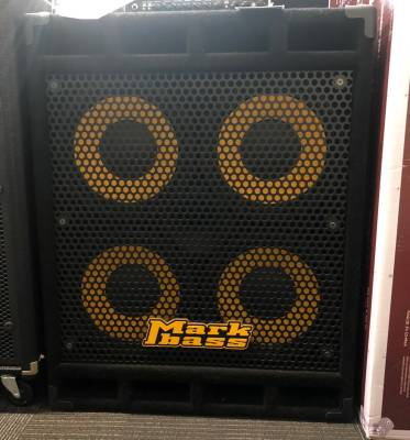 MARKBASS Cab Standard 104 - 800W 4OHM 4x10 Vented Cab with Horn