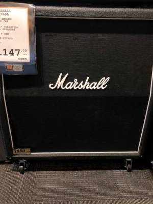 Store Special Product - Marshall 4x12 300W Slant Cab