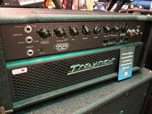 Traynor 200 Watt All-Tube Bass Head