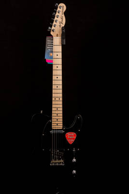 Store Special Product - American Special Telecaster, Maple Neck with Bag - Black
