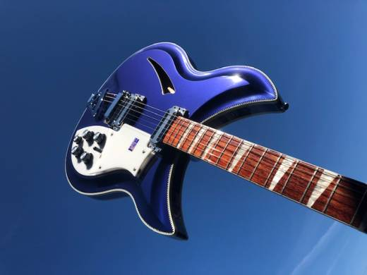 Rickenbacker 381/V69 Electric Guitar Jetglo