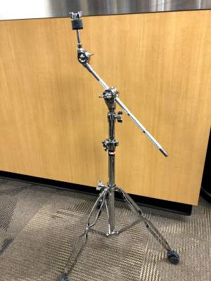 Store Special Product - Gibraltar Medium Weight Double Braced Boom Cymbal Stand