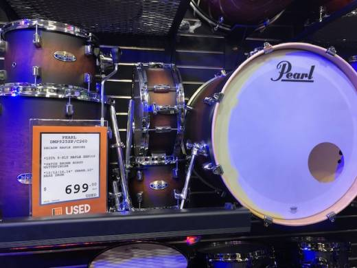 Pearl Decade Maple 22, 10, 12, 16, SD Drum Kit