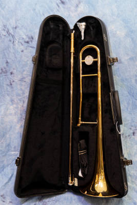 Store Special Product - Yamaha Standard Tenor Trombone - Gold Lacquer