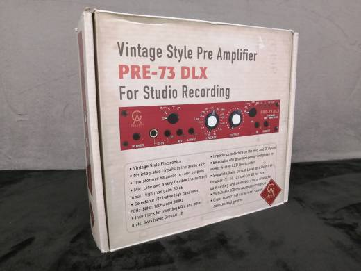 Golden Age - PRE-73 Deluxe Microphone Preamp