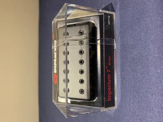 Imperium 7 Bridge Pickup - Black Cover