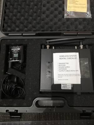 XD-V75L Digital Wireless 14-Freq. Lav Mic System