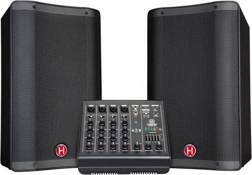 M200-BT 6-Channel, 200W Portable PA System