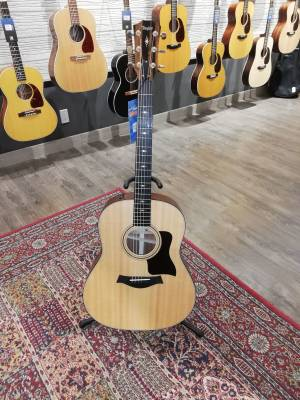 317e Grand Pacific Acoustic-Electric Guitar with V-Class Bracing, ES2 & Case - Natural