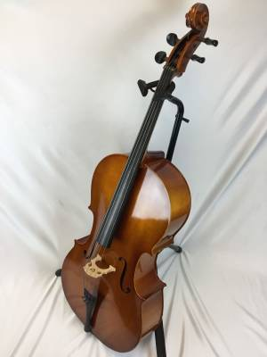 Eastman VC80ST Laminate Cello Outfit - 4/4