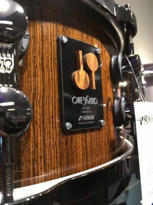 Sonor One-Of-A-Kind Beech/Bocote Snare Drum