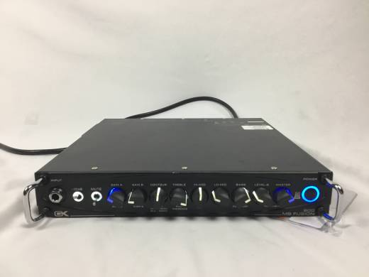 Store Special Product - GK MB FUSION BASS HEAD 800W TUBE PREAMP