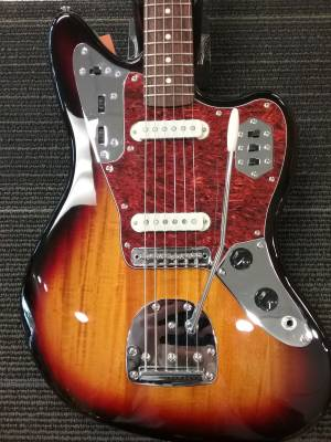 Vintage Modified Jaguar - 3-Color Sunburst