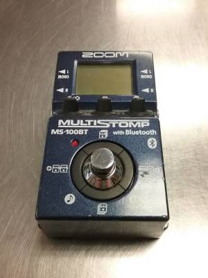 ZOOM MULTI-STOMP GUITAR FX PEDAL