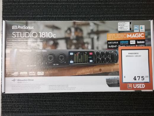 Studio 1810c 18-in/8-out 192kHz USB-C Audio Interface